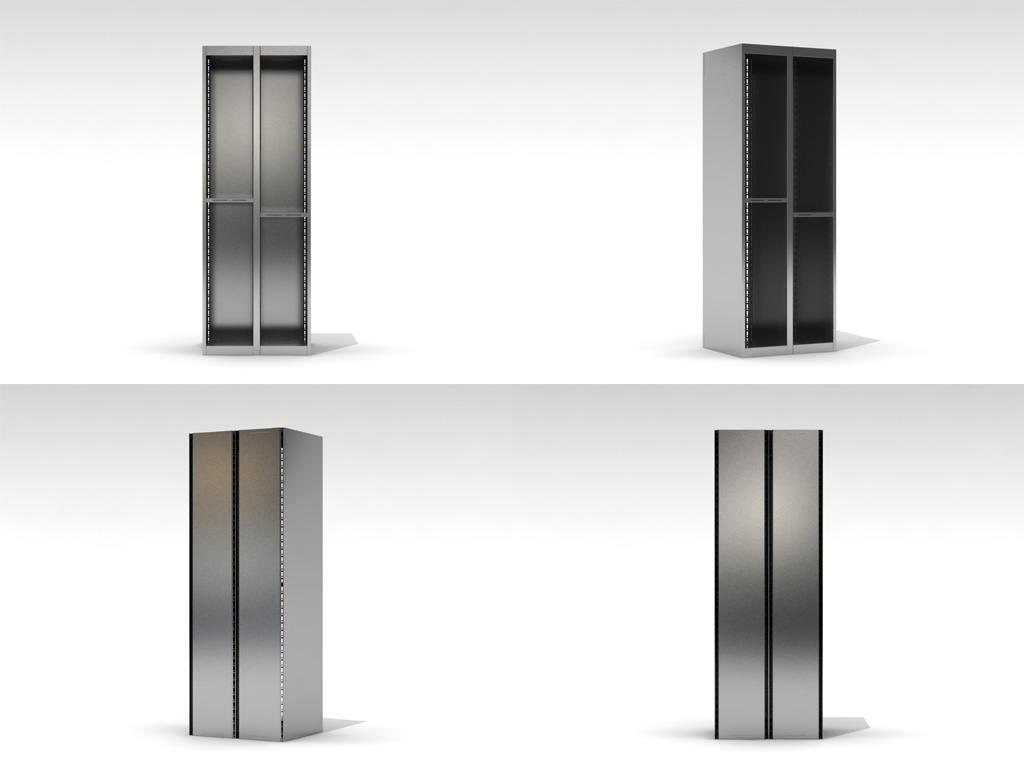 Функциональные шкафы из листового металла