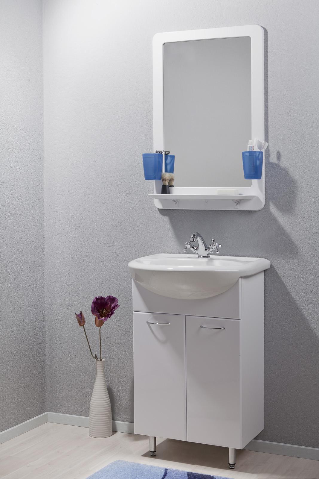 Набор с зеркалом для ванной комнаты «Орио»