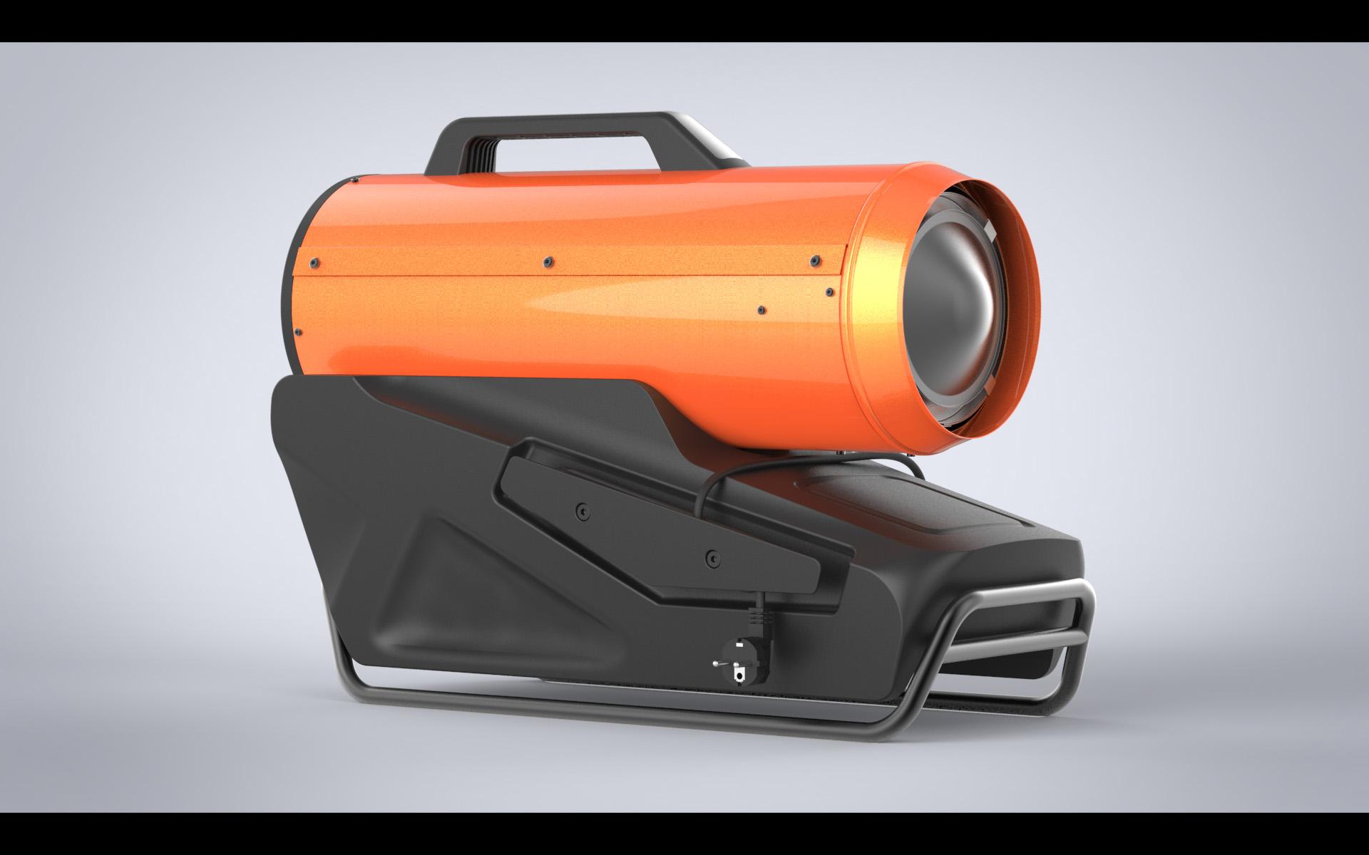 Дизельная тепловая пушка «Профтепло»
