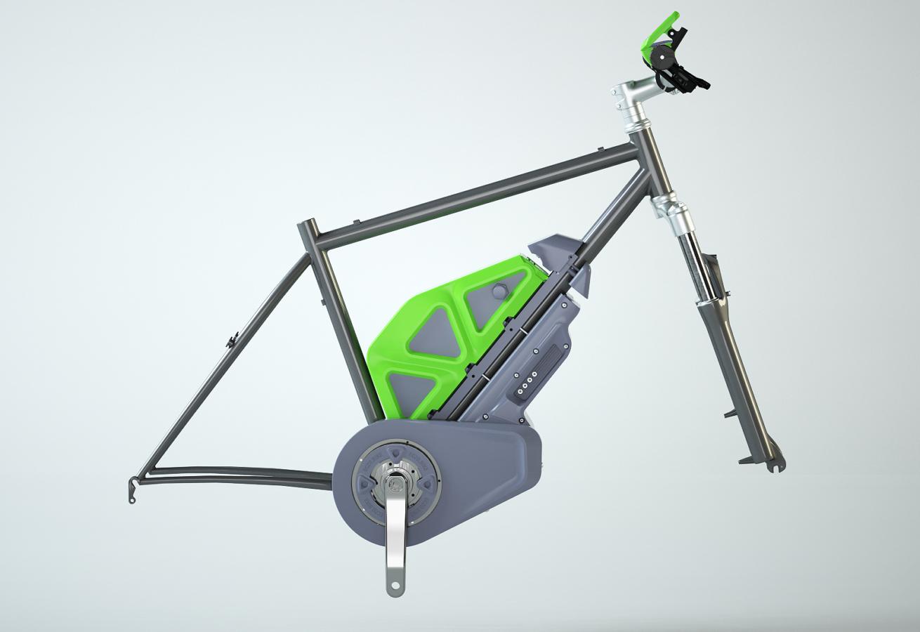 Корпус электровелосипеда Eczo Bike