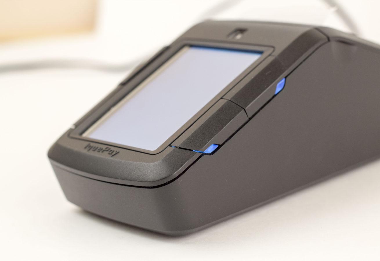 Платежный терминал с QR-идентификацией