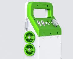 Корпус детектора излучения